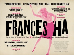 Free Cinema Tickets To See Frances Ha