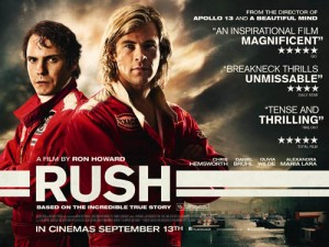 Free Cinema Tickets To See Rush