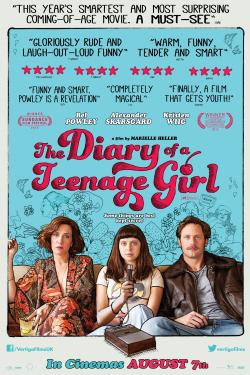 Free Cinema Tickets To See The Diary of a Teenage Girl