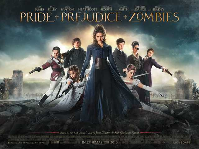 Free Cinema Tickets To See Pride and Prejudice and the Zombies