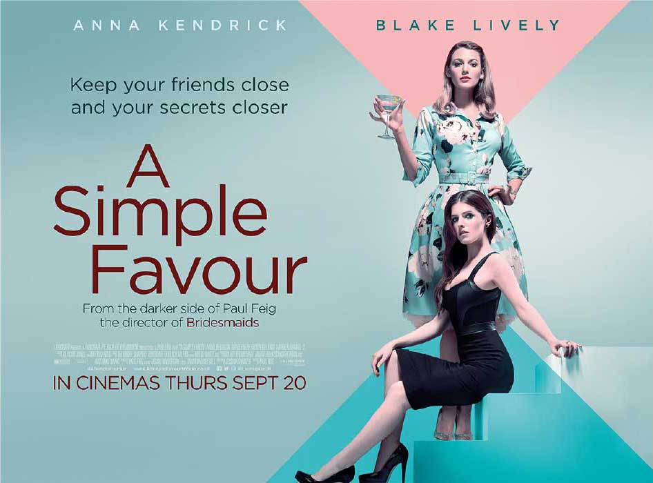 Free Cinema Tickets To See A Simple Favour